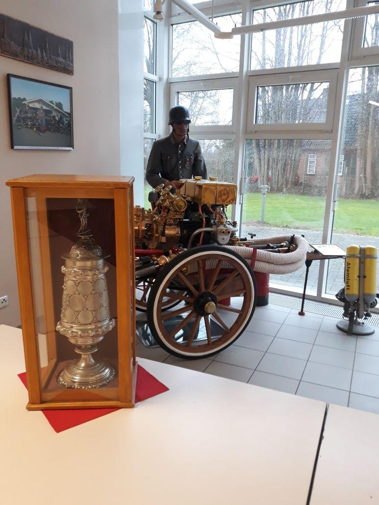 Die Freiwillige Feuerwehr Ivendorf hat das sauberste Gerätehaus der Hansestadt Lübeck!